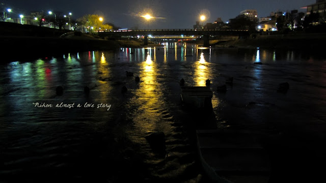 Kamogawa night