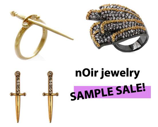 brooklyn bombshell noir jewelry sample sale