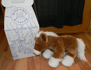 Build A Bear horse