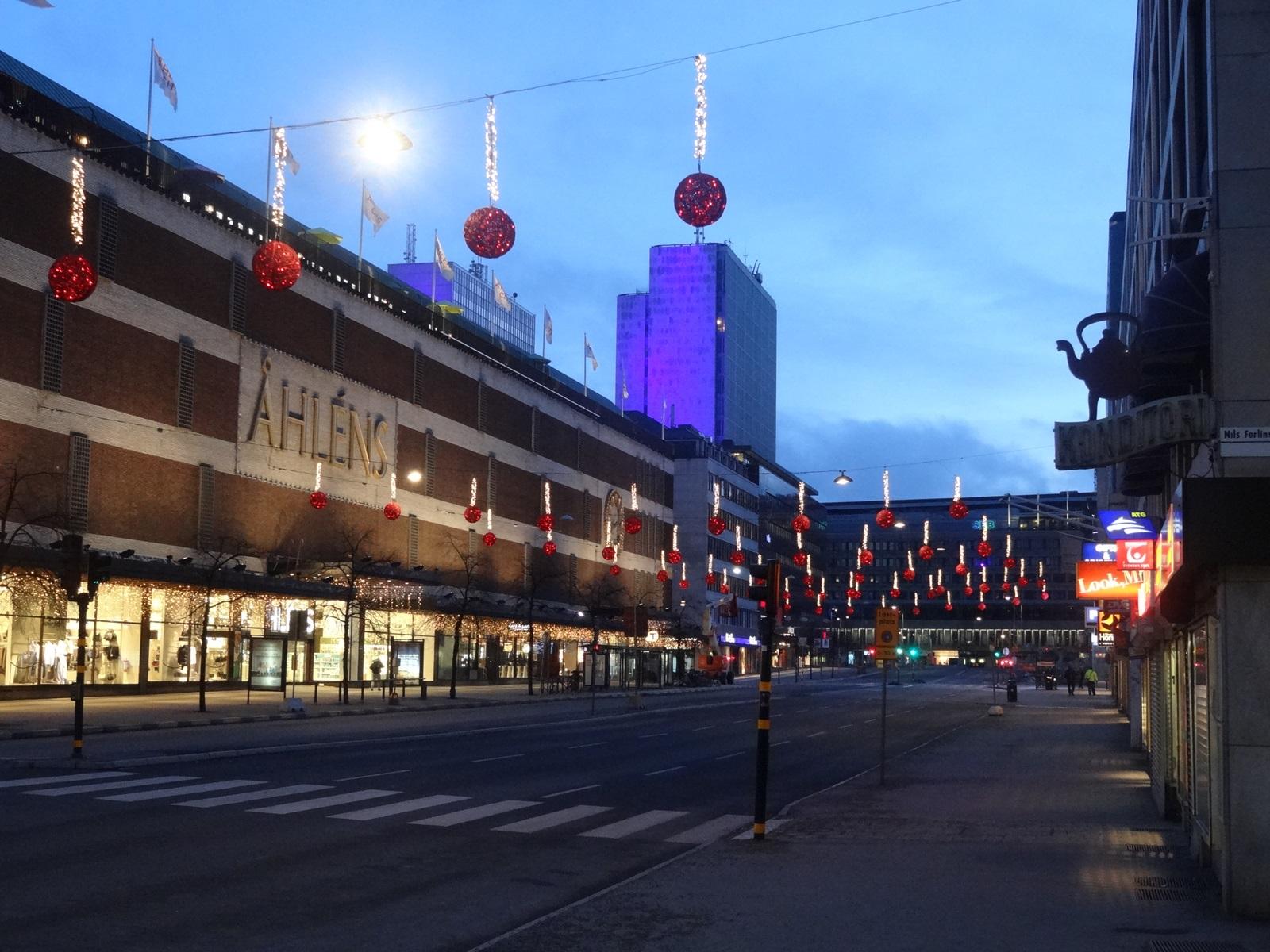 27 sztokholm centrum handlowe Ahlens