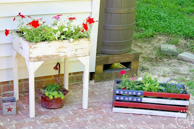 Old Drawer Flower box, shared by the Scrap Shop