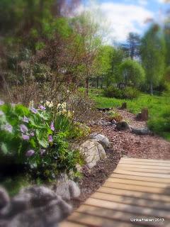 stig, trädgårdsgång