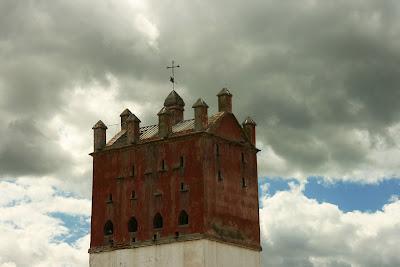Detalle de la torre/palomar. (Hacienda 'El Peral')