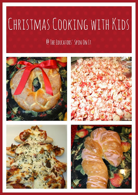Christmas Cooking with Kids featuring recipes that are fun to make with Kids!