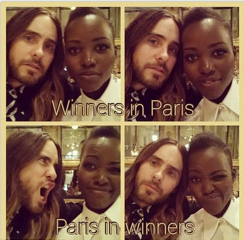 Is this a Proof That Jared Leto - Lupita Nyong O dating?