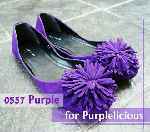 Aneka model sepatu sandal wanita murah - sandal wanita terbaru model Purple