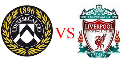 Prediksi Skor Udinese vs Liverpool 07 Desember 2012