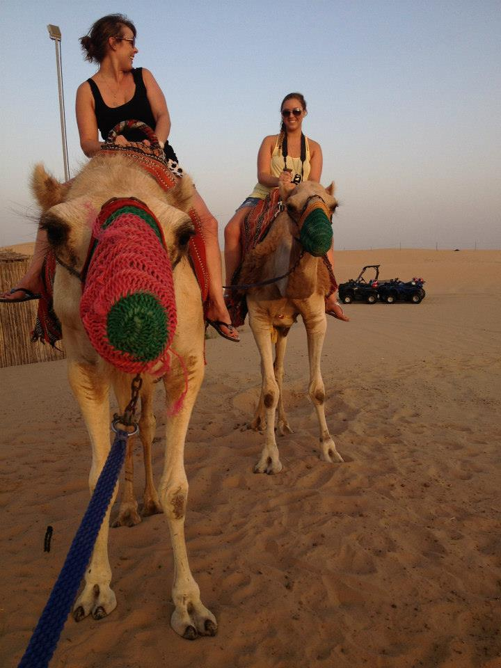 Abu Dhabi Camel Riding