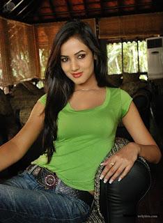 Sonal Chauhan Kiss