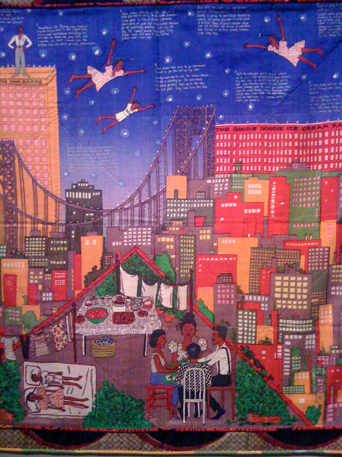 Faith ringgold quilts pictures