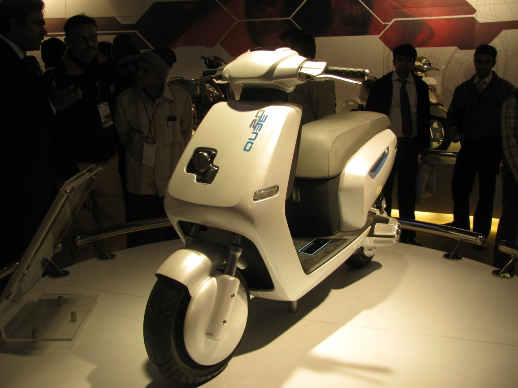IBN   Indian Biker News  TVS to launch two scooters and one