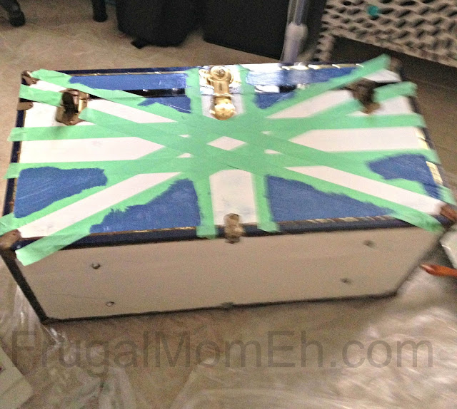 DIY Union Jack Trunk