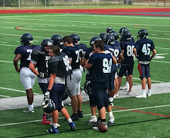 FROSH SPRING FOOTBALL FOR NATHAN #45!
