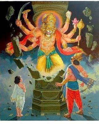 Narasimha Panchamrutham Stotram