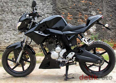 yamaha scorpio modifikasi street fighter