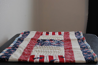 another view patriotic table runner