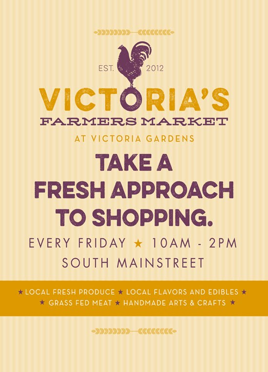 Click FLYER for Victoria Gardens Vendor App.