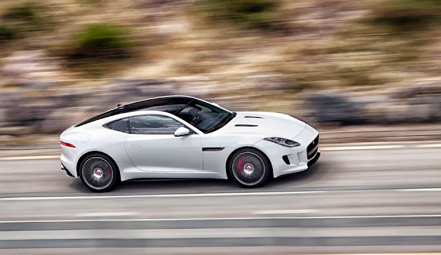Jaguar F-Type Coupe leaked photo