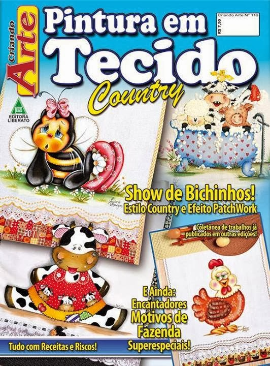 REVISTA CRIANDO ARTE COUNTRY ESPECIAL