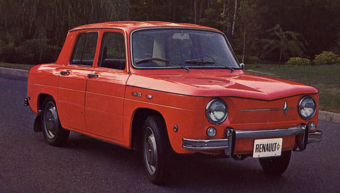 old cars canada 1966 renault 8. Black Bedroom Furniture Sets. Home Design Ideas