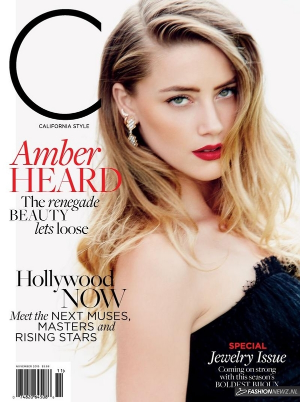 Amber Heard C Magazine cover