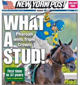 American Pharoah finds racing immortality
