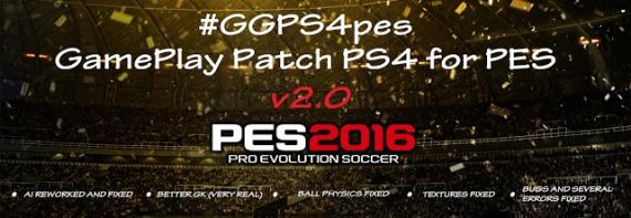 PS 4 Gameplay Patch V2.0 untuk PES 2016