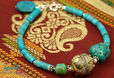 biżuteria z turkusu