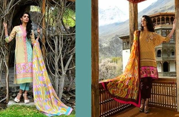 Wardha Saleem Lawn Collection 2014