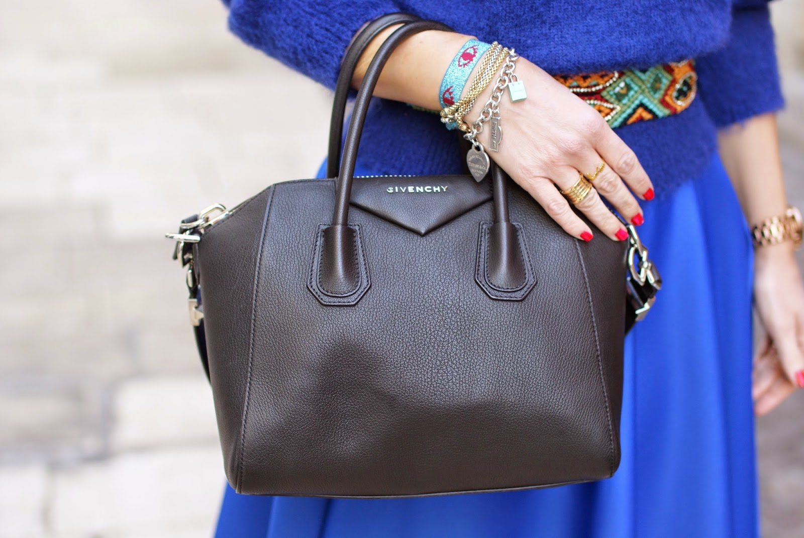 Givenchy Antigona bag black in small size, Fashion and Cookies, fashion blogger