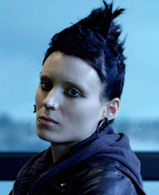 lisbeth salander makeup my beauty blurbs