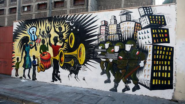 street art santiago de chile barrio yungay arte callejero