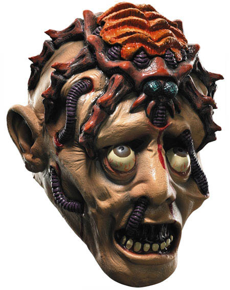 has got some cool and scary masks which are suitable for weird costume lovers they have got zombie alien demon devil