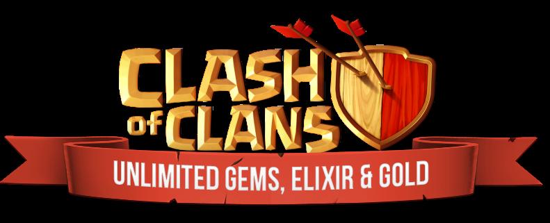 Clash of Clans Hackeado - 9,999,999 Gems, Coins & Elixirs