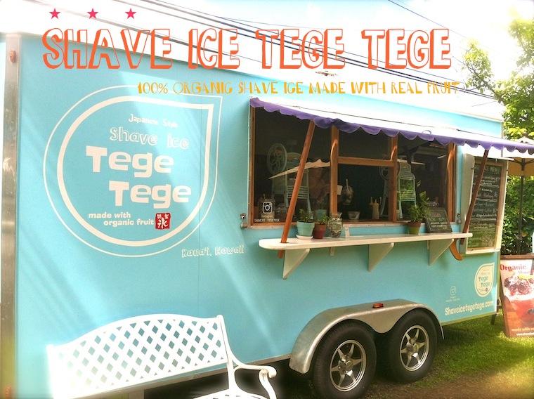 shave ice Tege Tege