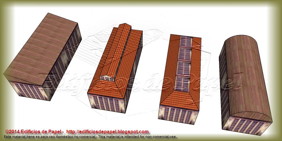 Cuatro tejados distintos