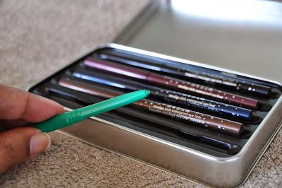 Stila emerald eyeliner