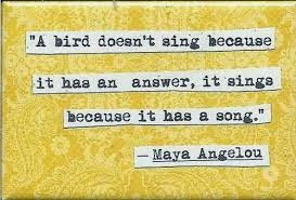 Katherine Philips and Maya Angelou Poem Analysis: I Know Why the ...
