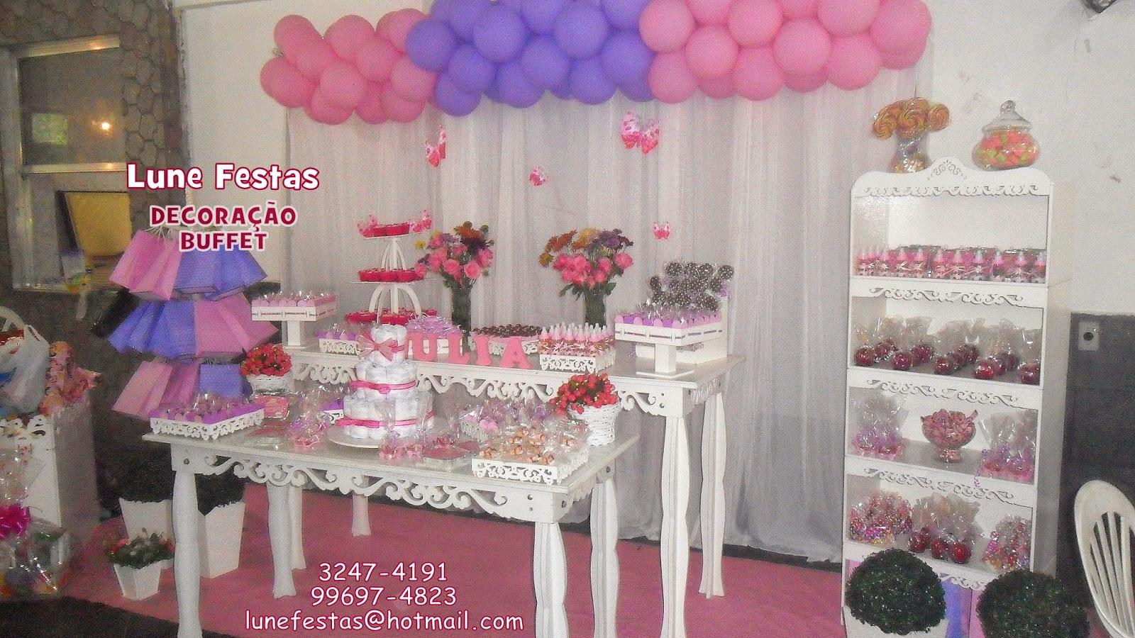 Lune Festas São Gonçalo RJ: Chá de Fralda ou Chá de Bebê  #583E8D 1600x900