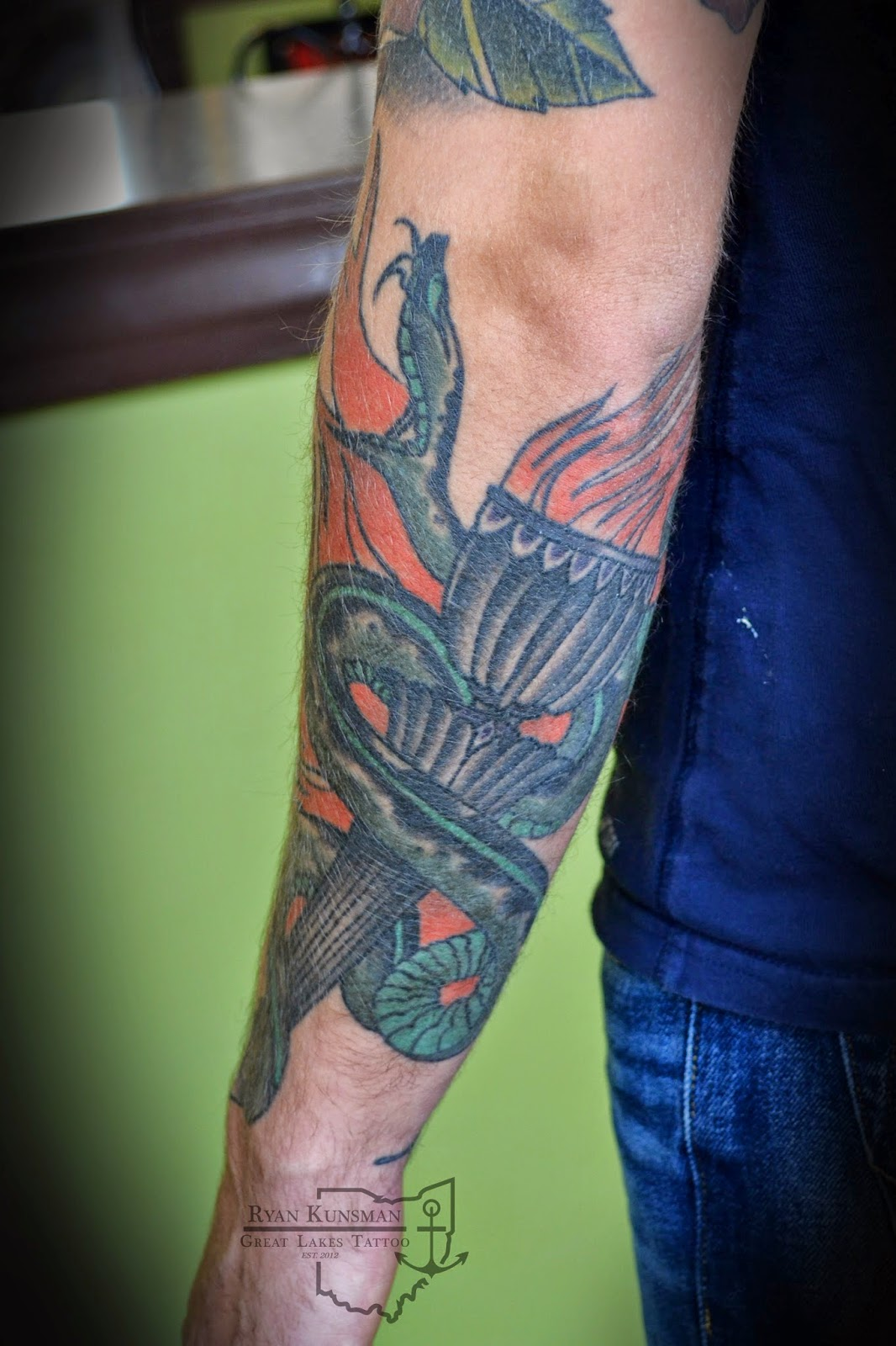 Ohio Tattoo Artist