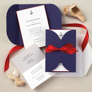 Do It Yourself Weddings DIY Nautical Theme Wedding Invitations