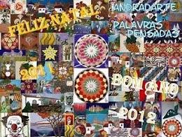 Cartão de Boas Festas do amigo Andrade