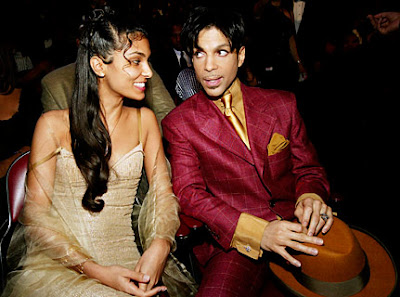 Prince Rogers Nelson And Mayte Garcia