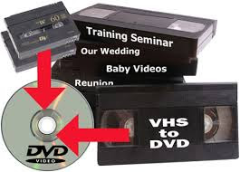 How to transfer home videos to DVD