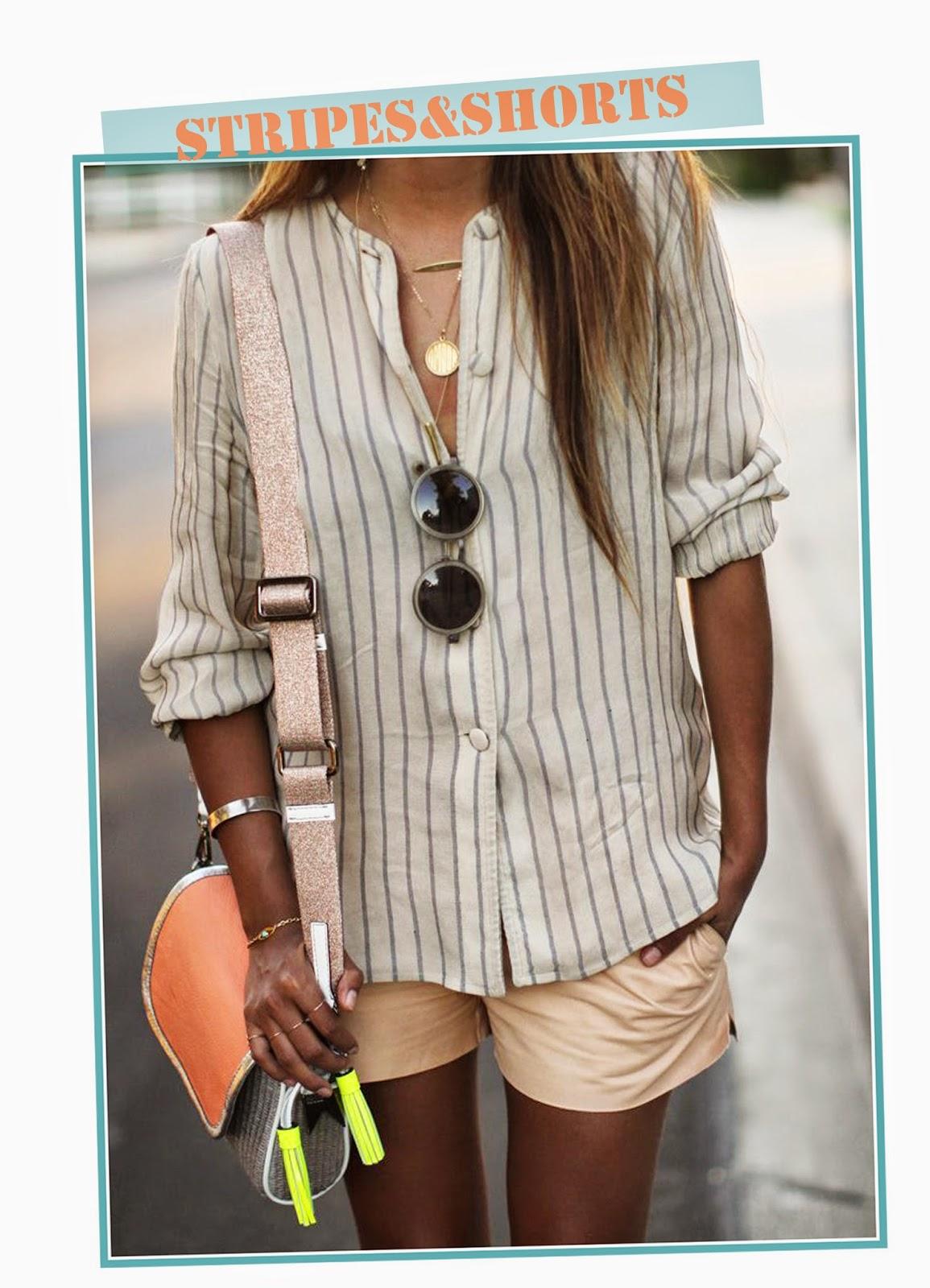 photo-look-street_style-stripes_shirt-shorts