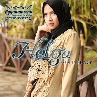 Ayyanameena Helga - GoldBlack