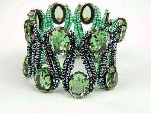 """Изумительно красивый браслет """"Зигзаг"""""""