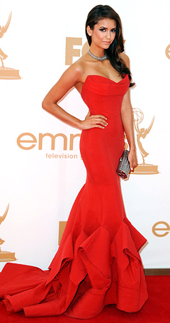 Nina+Dobrev+at+the+2011+Emmy%2527s