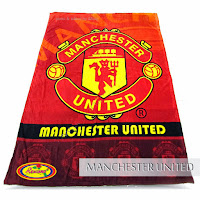 Jual Selimut Rosanna Soft Panel Blanket Machester United