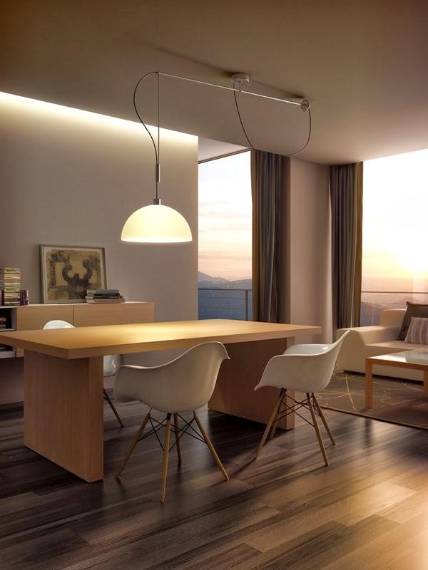 Iluminacion salon comedor dise os arquitect nicos - Ideas iluminacion salon ...